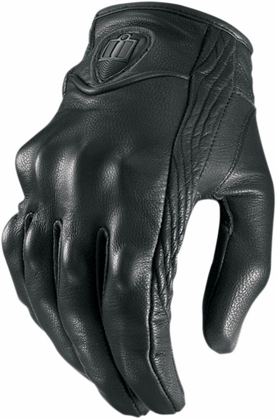 Icon Pursuit Women Leather Gloves Black