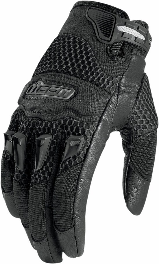 Icon Twenty-Niner leather Women gloves Black