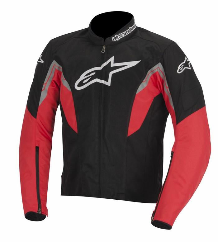 Giacca moto Alpinestars Viper Air nero rosso bianco