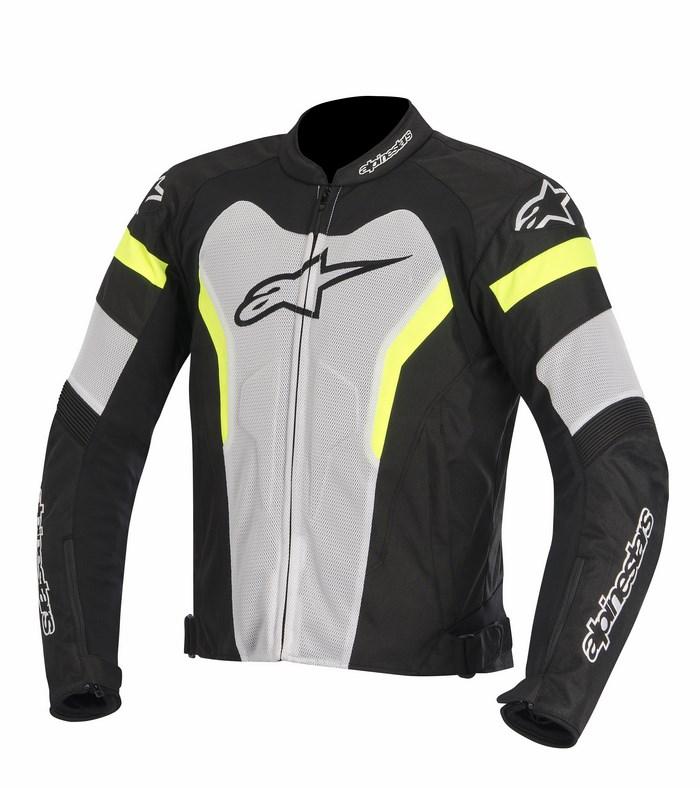 Alpinestars T-GP Pro Air  jacket black white yellow fluo