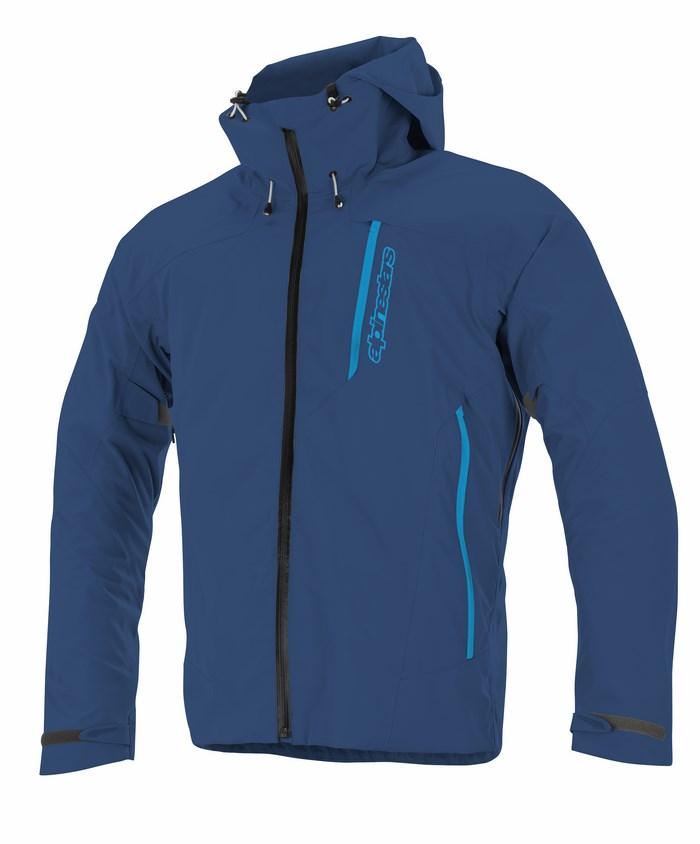 Giacca moto Alpinestars Logan 3L WP blu