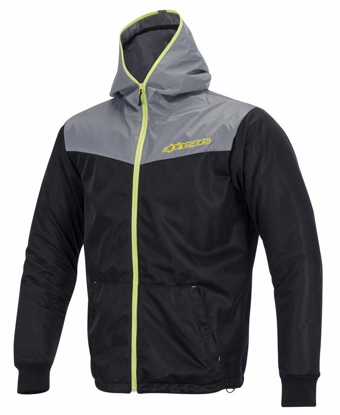 Giacca moto Alpinestars Runner Air nero giallo