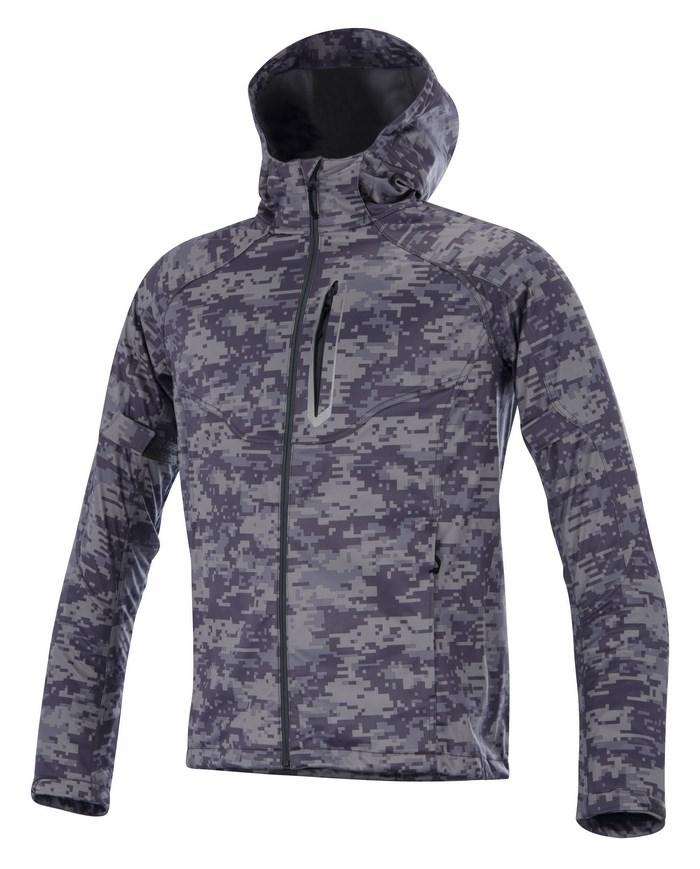 Alpinestars Spark Soft Shell jacket digit gray camo