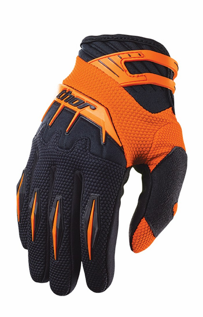 Thor Spectrum Gloves cross orange
