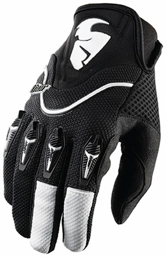 Thor Flow Gloves cross blacks