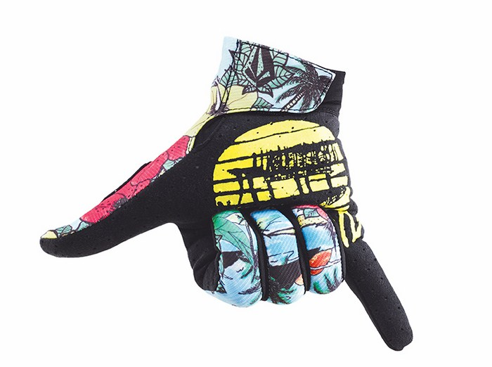 Guanti cross Thor Void Plus Volcom Aloha