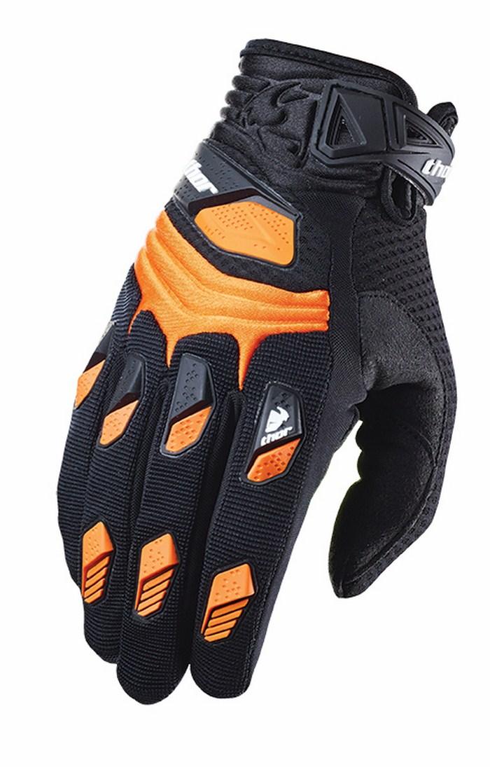 Thor Deflector Gloves cross orange