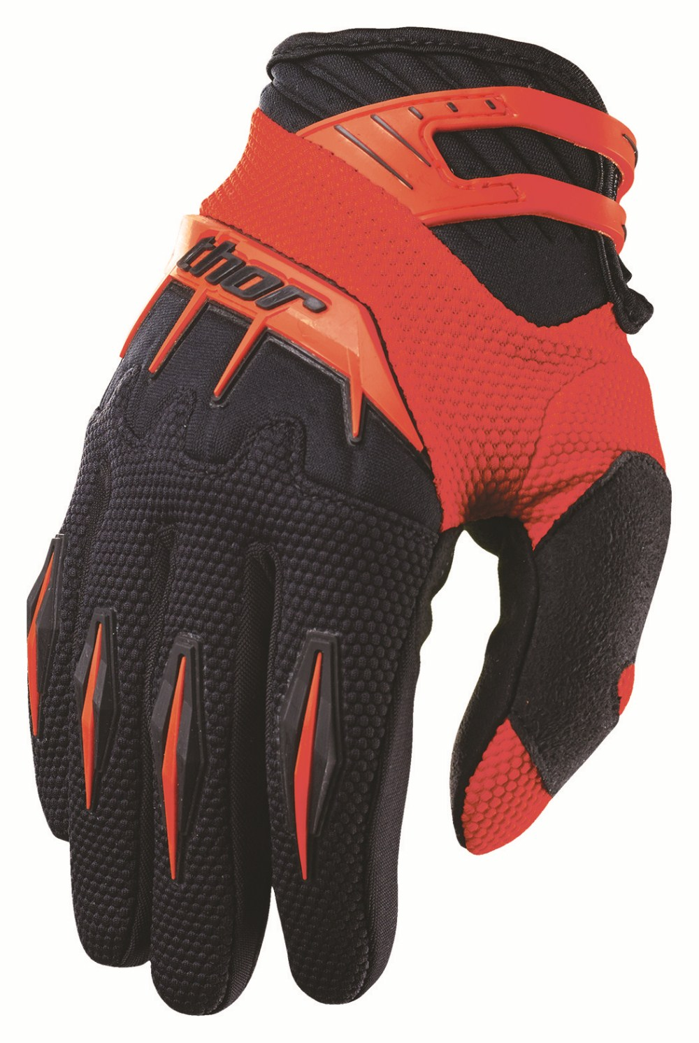 Thor Youth Spectrum Gloves red
