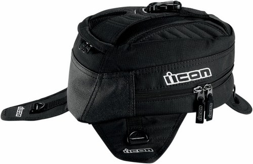 Magnetic Icon Primer Tank Bag Black