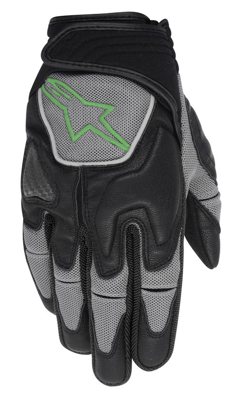 Alpinestars Scheme Kevlar Gloves Black Green