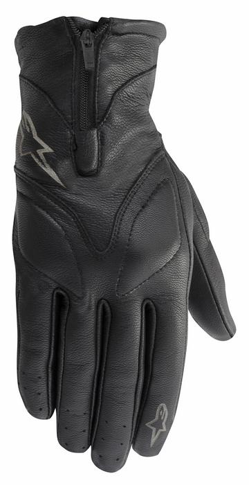 Women leather motorcycle gloves Alpinestars Stella Vika Bl