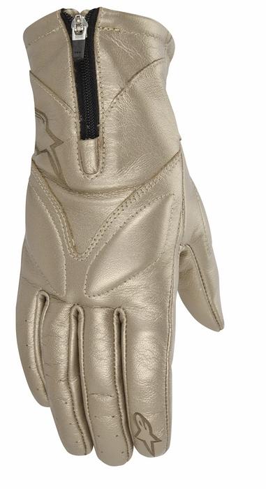 Women leather motorcycle gloves Alpinestars Stella Vika Ch