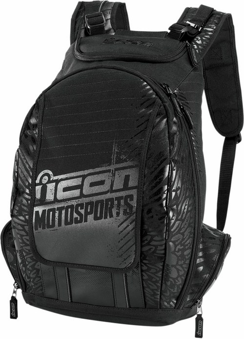 Icon Old Skool Backpack Black