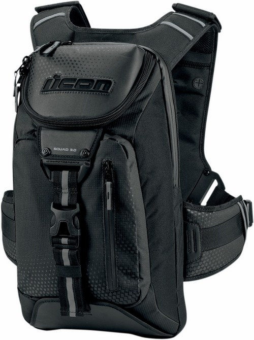 Icon Squad Backpack 3 Black