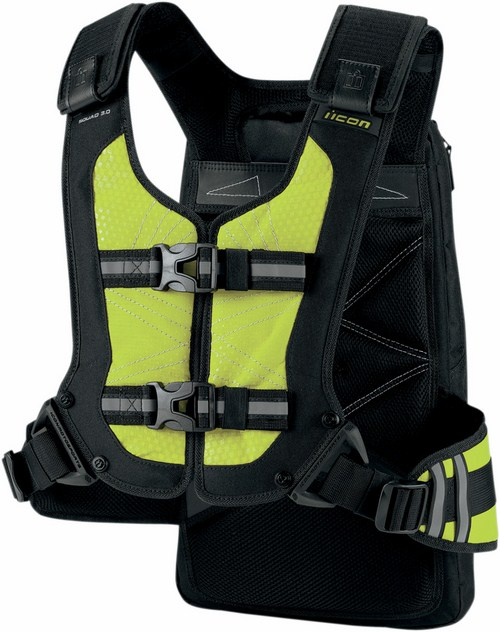 Icon Squad Backpack Yellow fluo 3