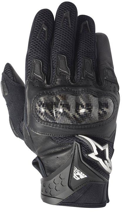 Alpinestars Stella SMX-2 AC summer motorcycle gloves black