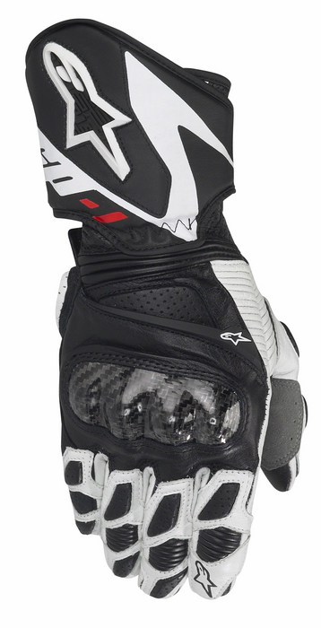 Guanti moto donna pelle Alpinestars Stella SP-1 Nero Bianco