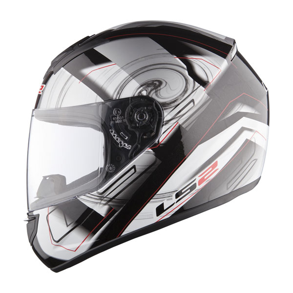 Casco integrale LS2 FF351 Action Silver