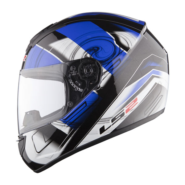 Casco integrale LS2 FF351 Action Blu