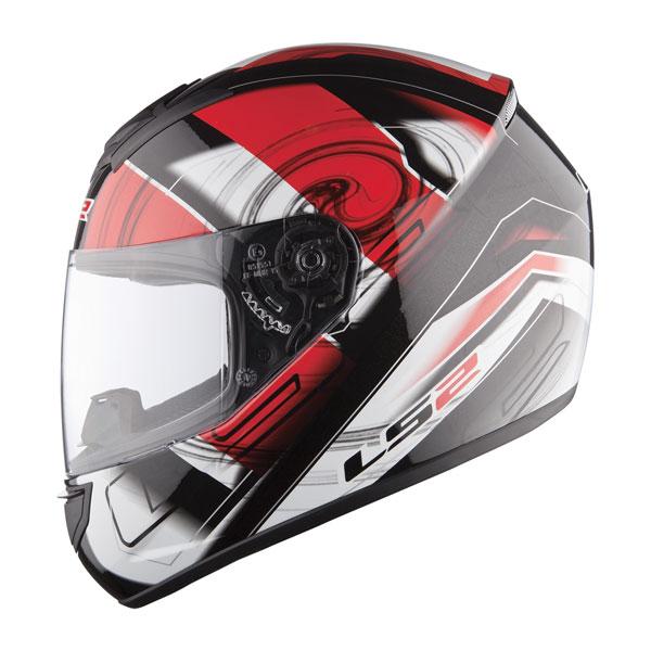 Full face helmet LS2 FF351 Action Red