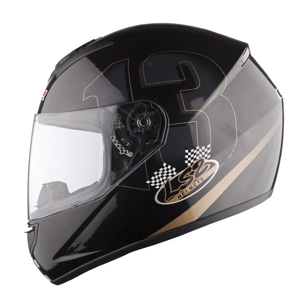 Casco integrale LS2 FF351 Poker nero