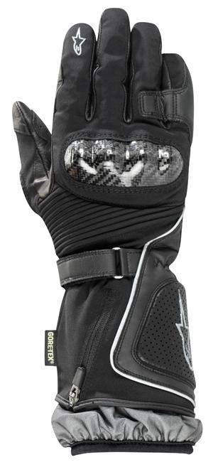 Guanti moto Alpinestars Jet Road Gore-Tex neri Invernali