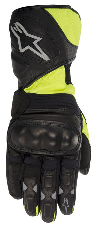 Alpinestars Vega Drystar Gloves Black Yellow Neon