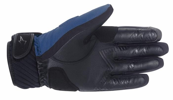 Guanti moto Alpinestars Yari Drystar blu