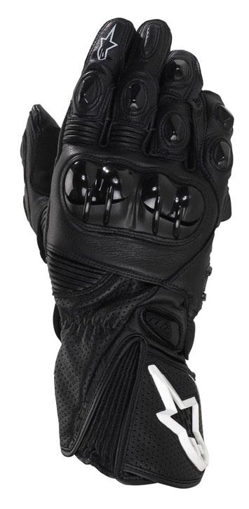 ALPINESTARS GP PLUS leather gloves col. black