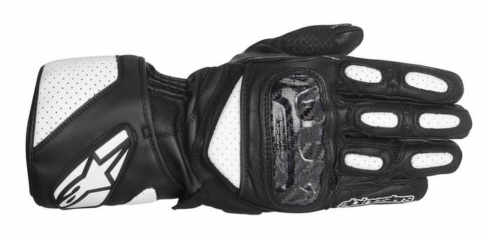 Guanti moto Alpinestars SP-2 nero bianco