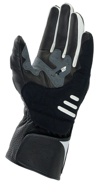 ALPINESTARS SP-2 leather gloves col. black-white