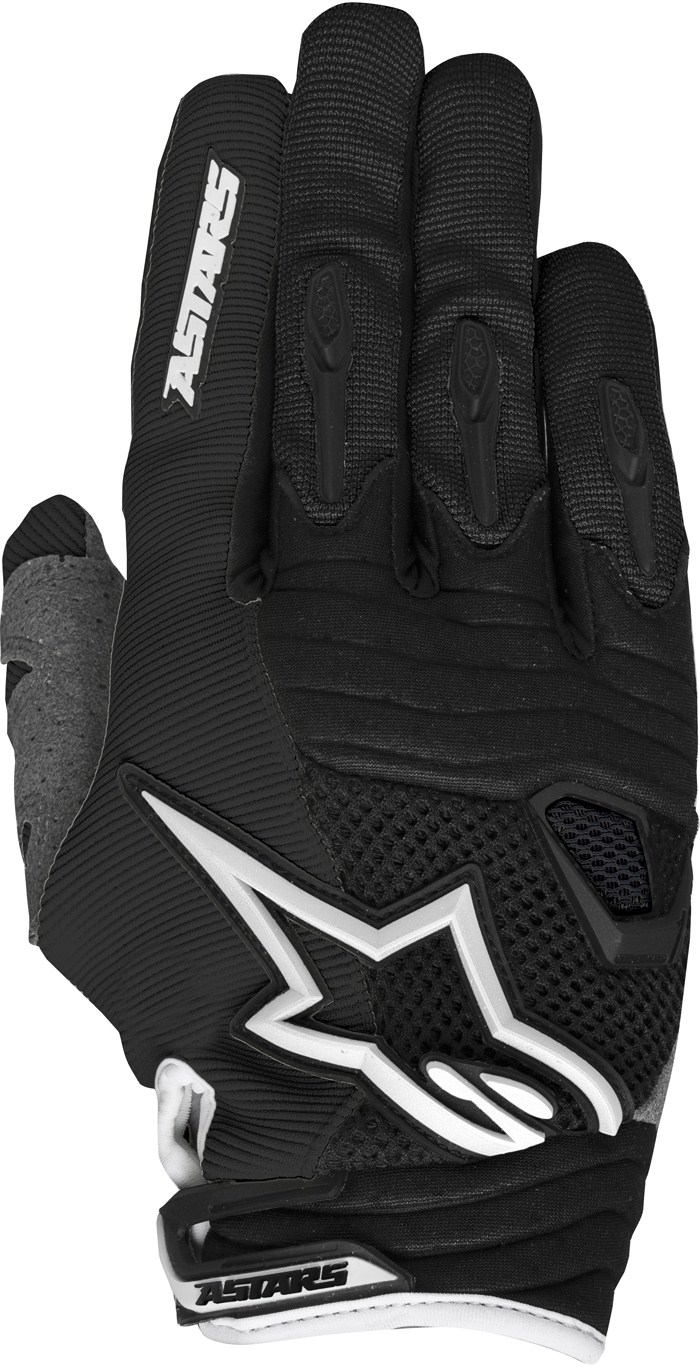 Guanti cross Alpinestars Techstar Nero Bianco