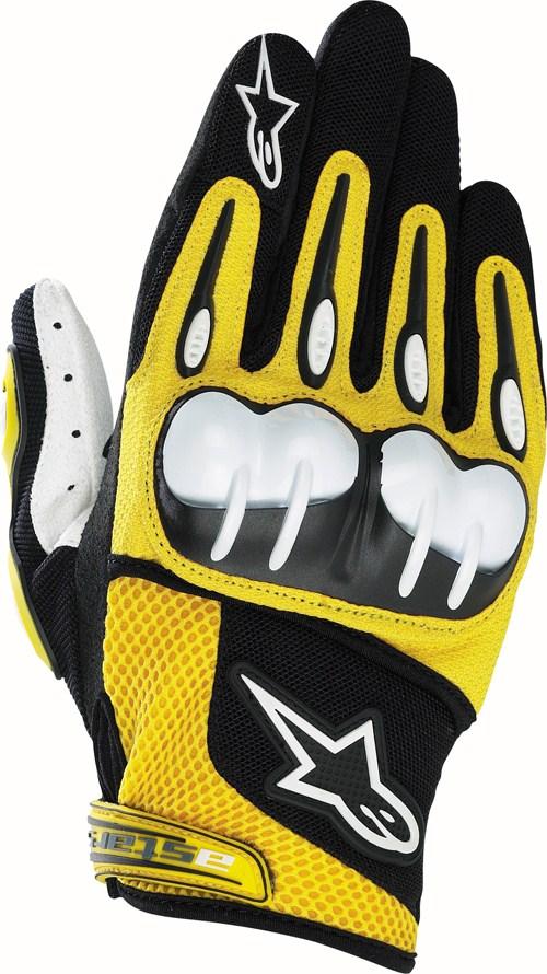 Alpinestars Octane Hard Knuckle of-road gloves yellow