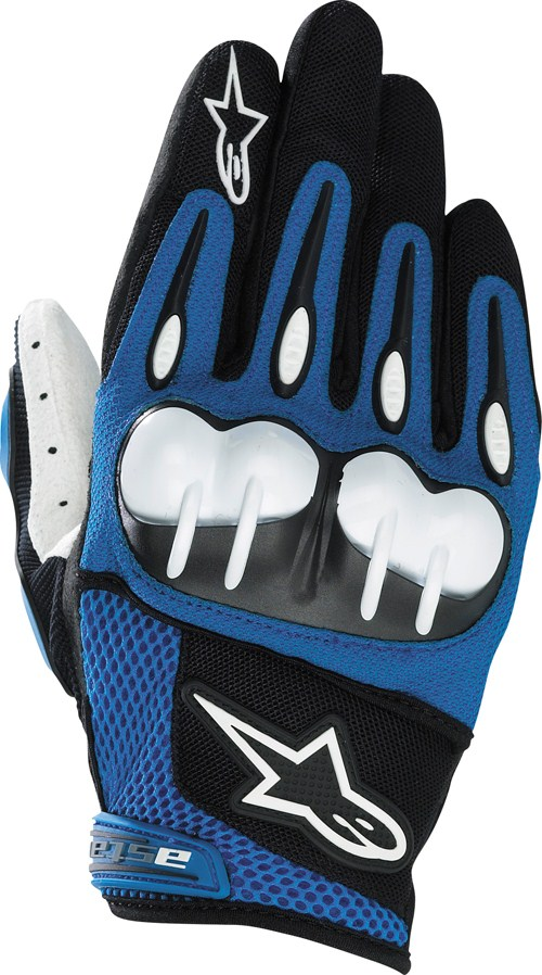 Alpinestars Octane Hard Knuckle of-road gloves blue