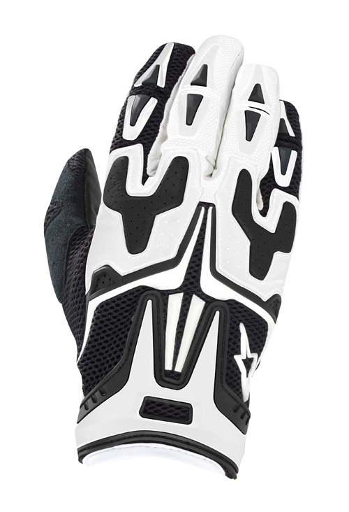 Alpinestars SMX Prowler Air summer gloves black-white