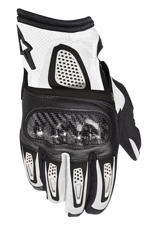 Gloves Alpinestars Thunder Air Black White