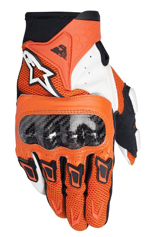 Gloves Alpinestars SMX-2 Air Carbon Orange White