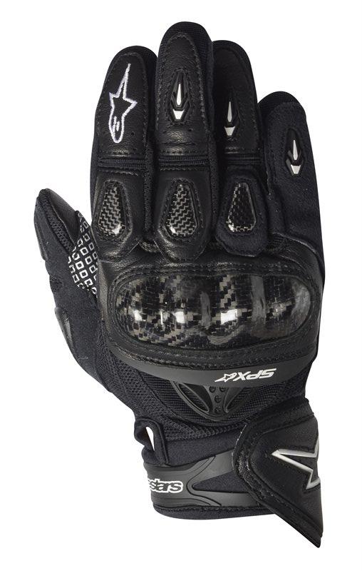 Guanti moto pelle Alpinestars SP-X nero 3567912