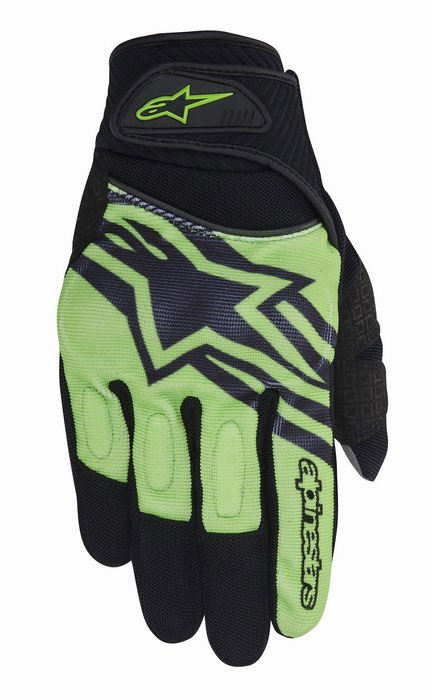 Alpinestars Spartan summer gloves Black Green