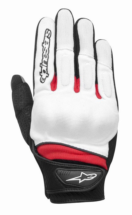 Alpinestars Spartan summer gloves White Red Black
