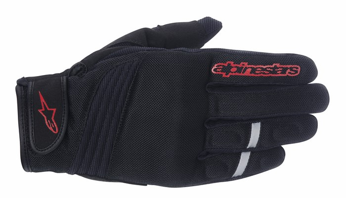 Alpinestars Asama Air Phantom Poppy red gloves