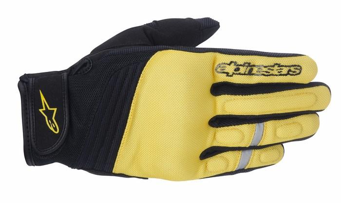 Alpinestars Asama Air Hi Viz Yellow Phantom gloves