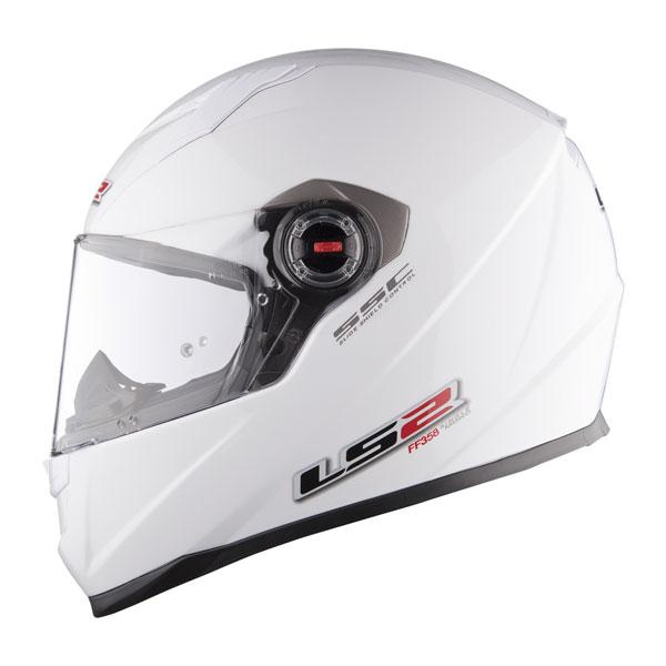 Full face helmet LS2 FF358 Concept White