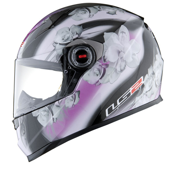 Casco integrale LS2 FF358 Chic nero rosa