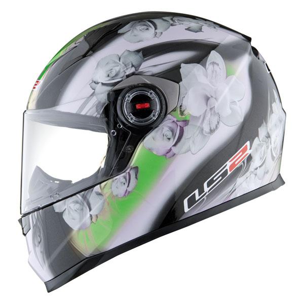 Full face helmet LS2 FF358 Chic black green