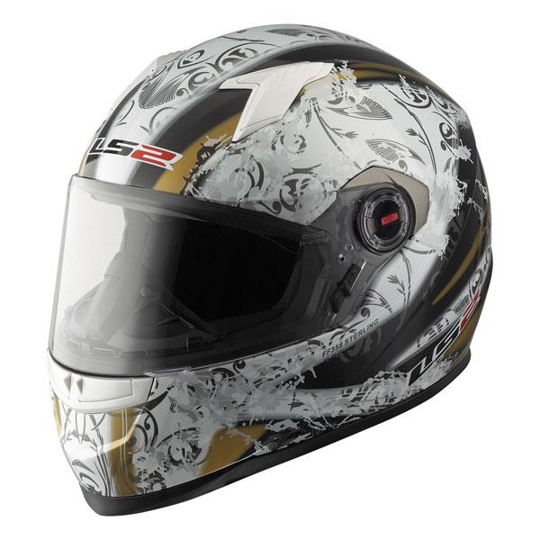 Full face helmet LS2 FF358 Sterling white black