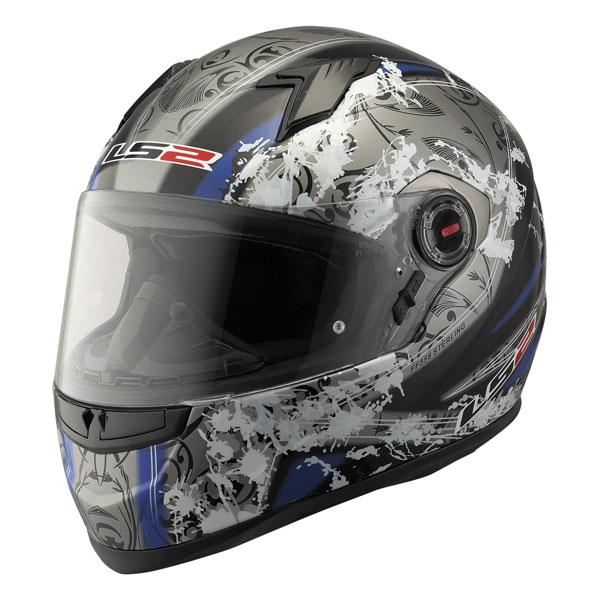 Full face helmet LS2 FF358 Sterling black blue