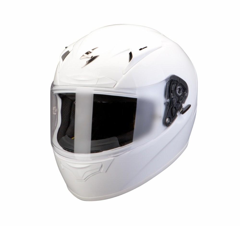 Scorpion Exo 2000 Evo Air Solid full face helmet white