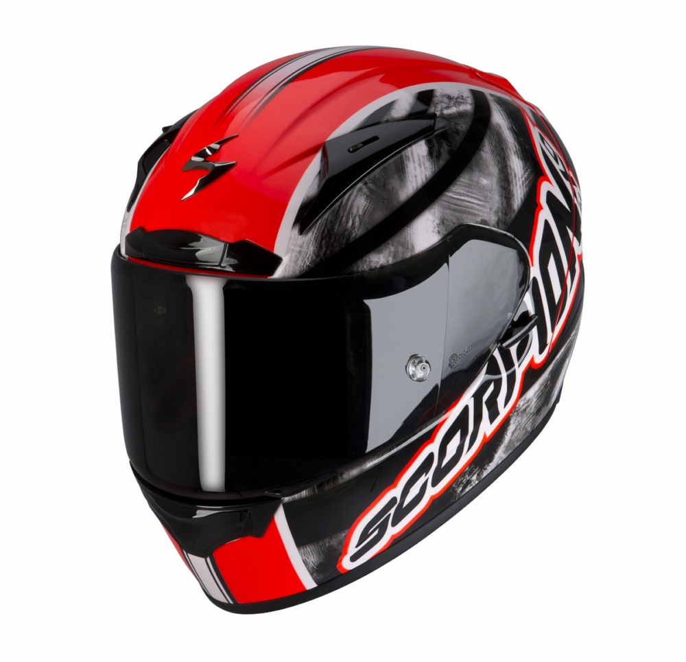 Scorpion Exo 2000 Evo Air Sidewall full face helmet red