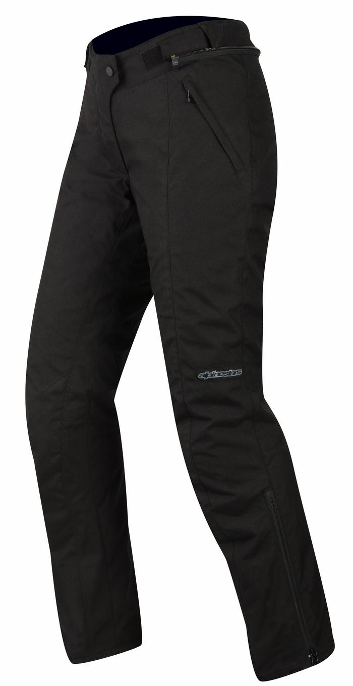 Pantaloni moto donna Alpinestars Stella Courmayeur GoreTex Nero